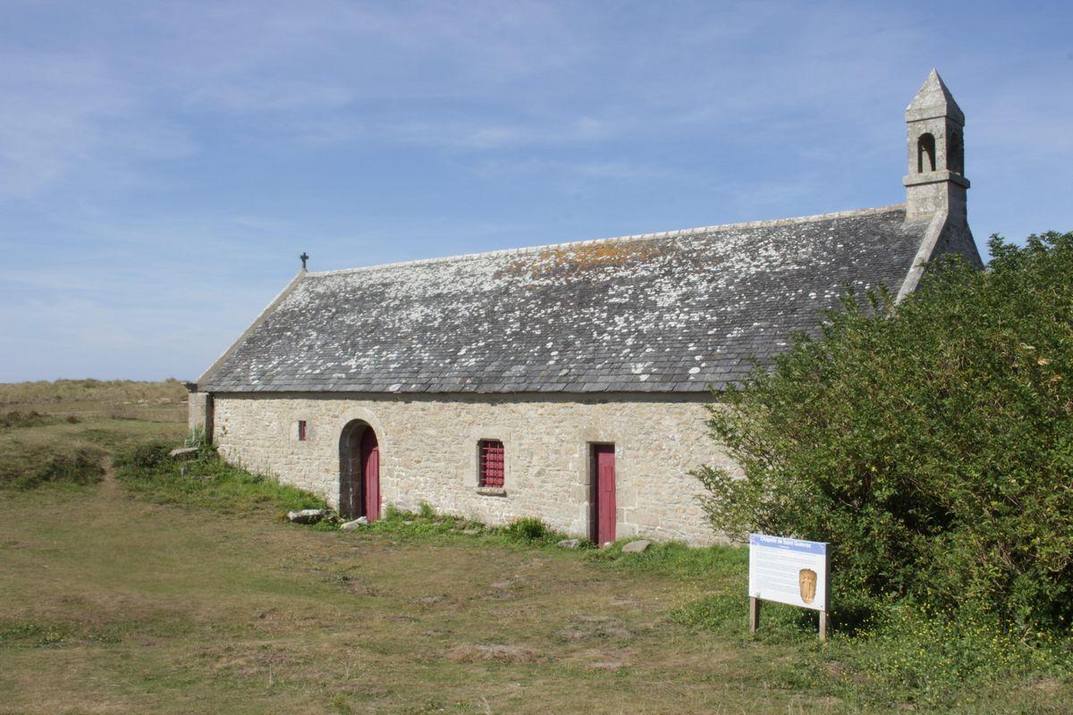 chapelle de St Guévroc dans les dunes de Kéréma